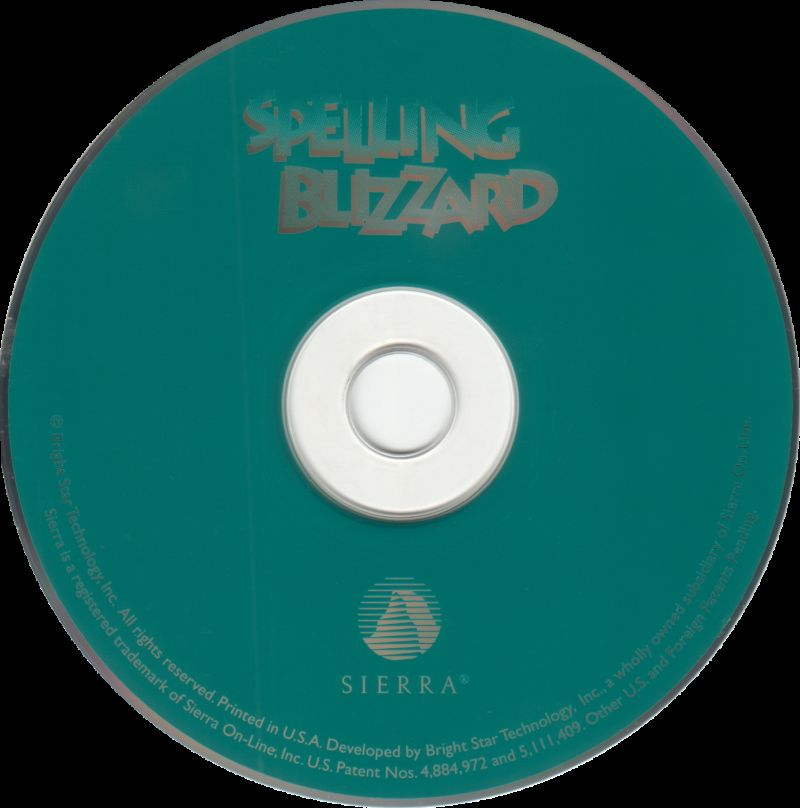 spelling blizzard 1994 macintosh box cover art mobygames