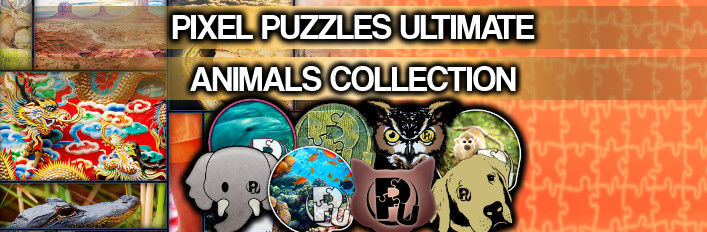 Pixel Puzzles Ultimate: Animals Collection