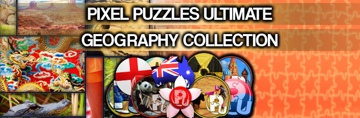 Pixel Puzzles Ultimate: Geography Collection