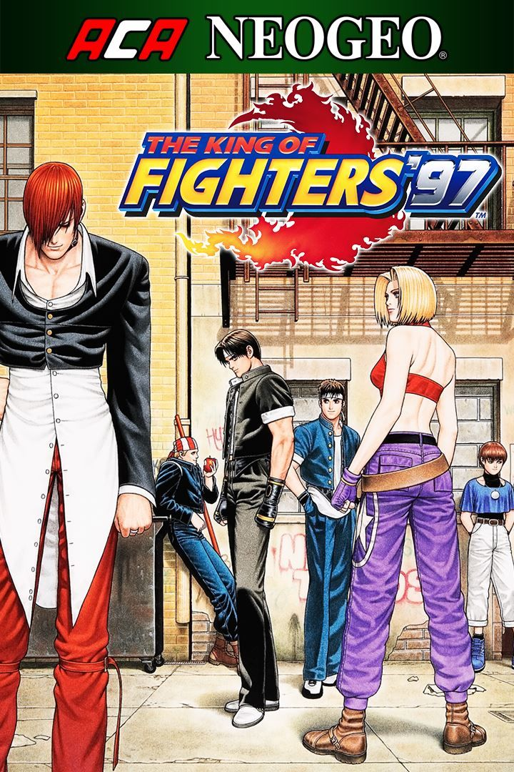 The King of Fighters '97 Windows Apps Front Cover