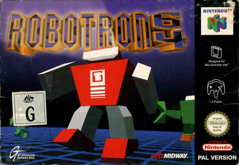 Last Game You Finished And Your Four-ghts - Page 15 435009-robotron-64-nintendo-64-front-cover