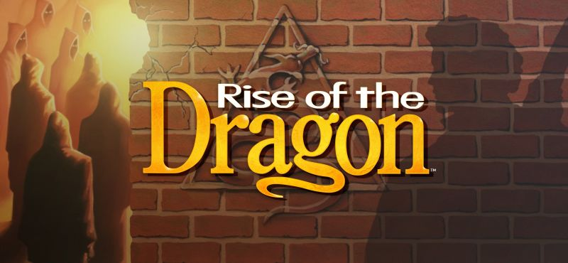Rise of the Dragon Windows Front Cover