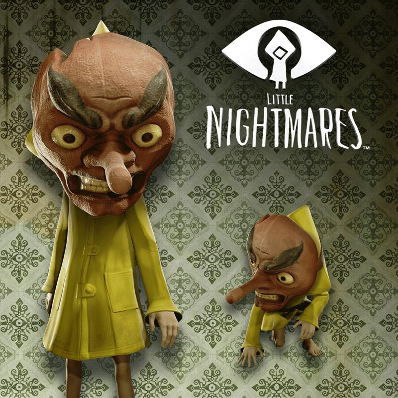 Little Nightmares: Tengu Mask PlayStation 4 Front Cover