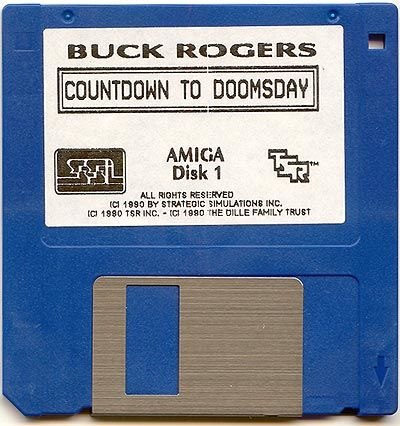 Buck Rogers: Countdown to Doomsday Amiga Media