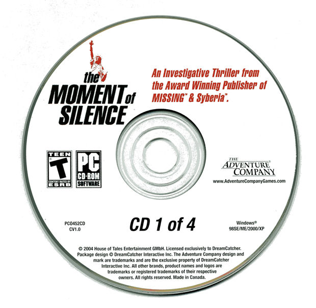 The Moment of Silence Windows Media Disc 1