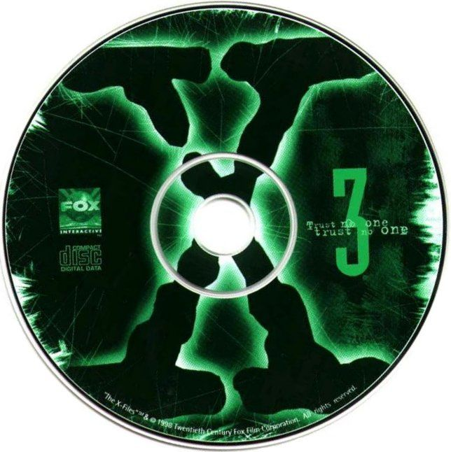 The X-Files Game Windows Media Disc 3