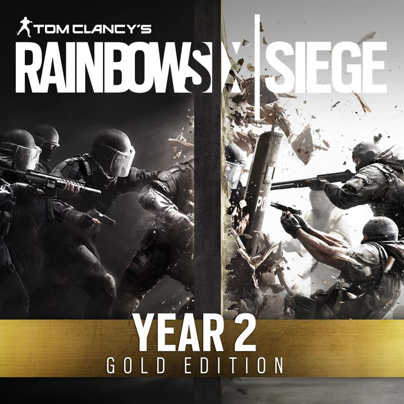 Tom Clancy's Rainbow Six: Siege - Year 2 Gold Edition Covers