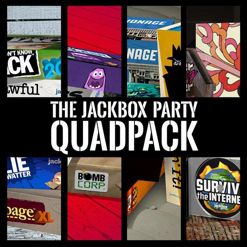 The Jackbox Party Quadpack (2017) - MobyGames