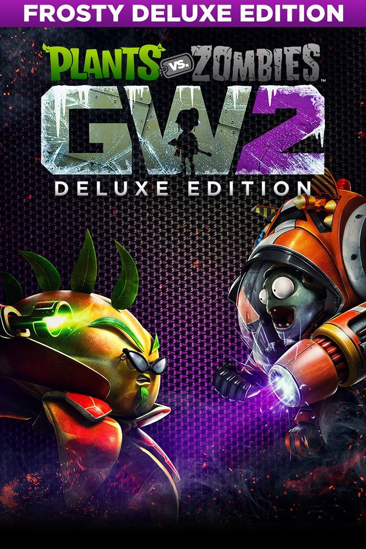 Plants Vs Zombies Garden Warfare 2 Frosty Deluxe Edition 2017 Playstation 4 Box Cover Art