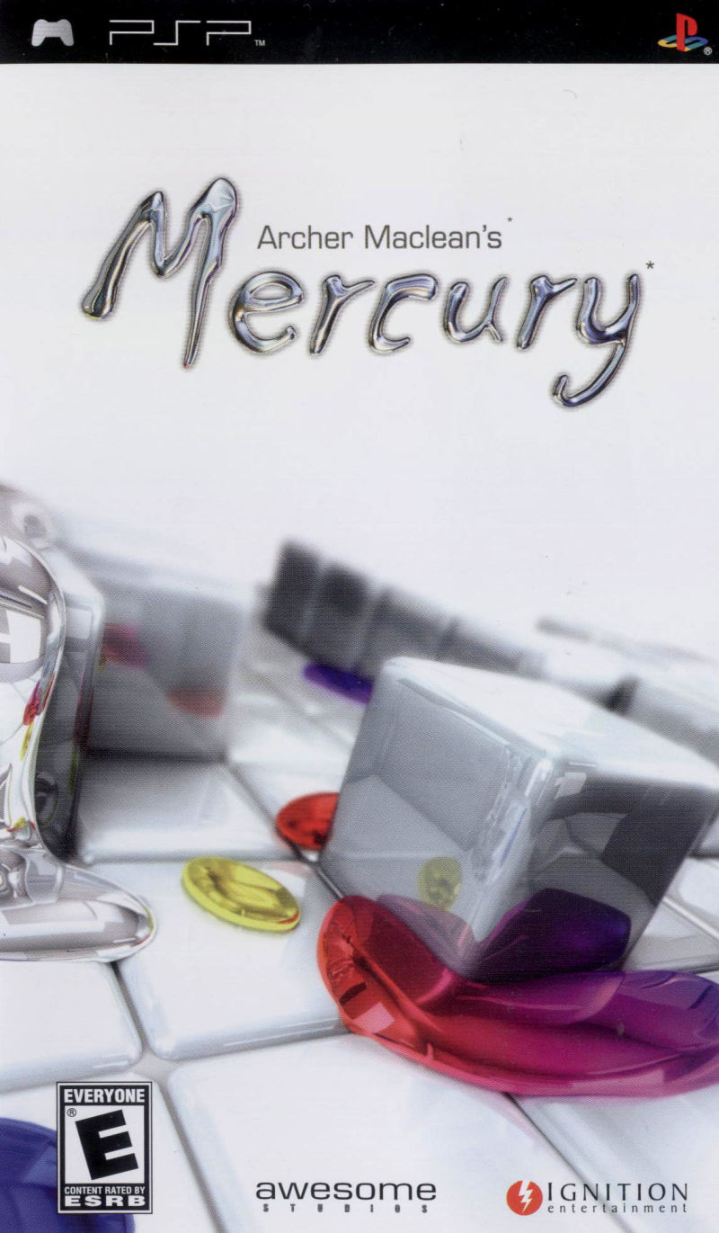 Archer Maclean's Mercury PSP Front Cover