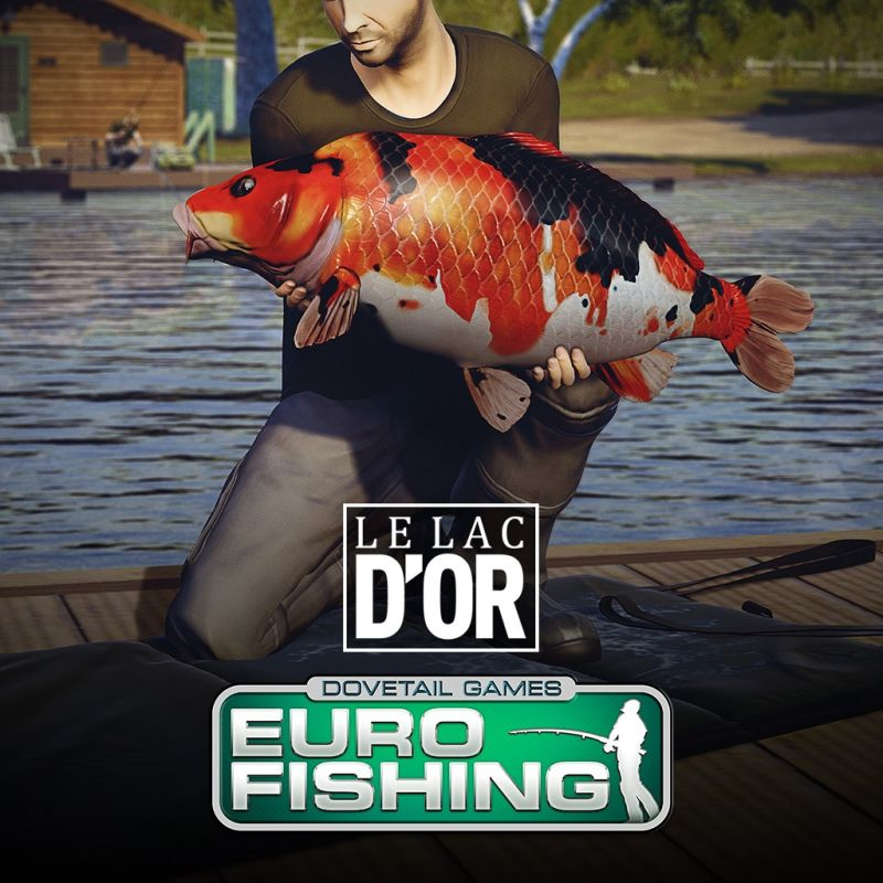 Euro fishing le lac d 39 or 2017 playstation 4 box cover for Playstation 4 fishing games