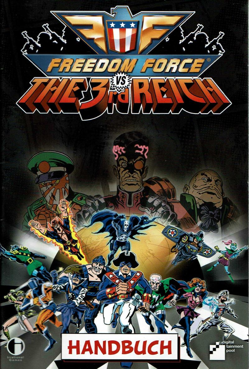 ... Array - freedom force vs the 3rd reich 2005 windows box cover art  mobygames rh mobygames bb38dc847784