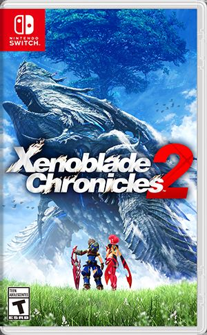 Xenoblade Chronicles 2 Nintendo Switch Front Cover