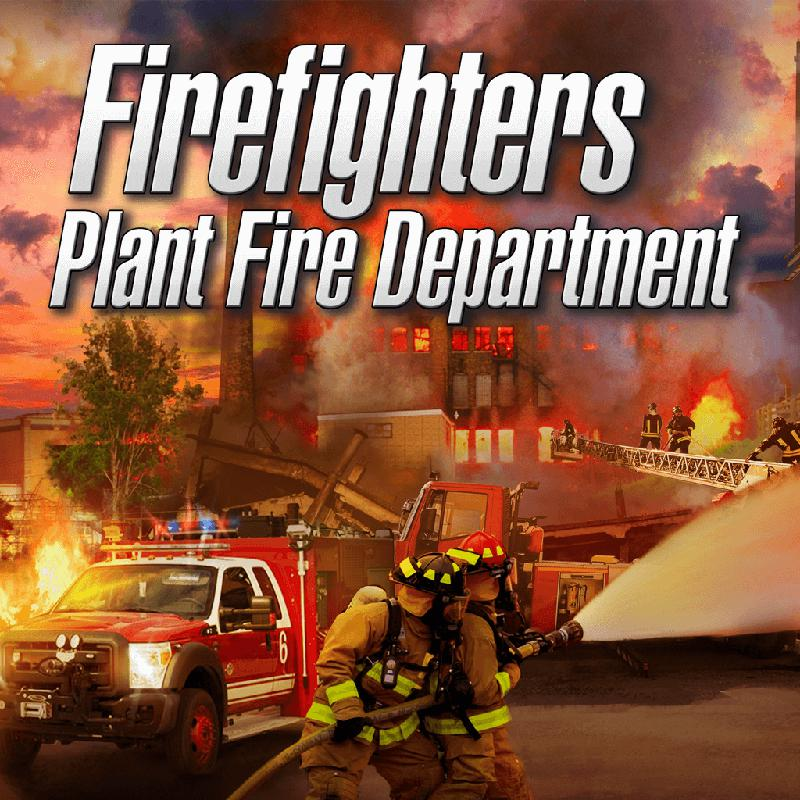 Firefighters: Plant Fire Department (2017) PlayStation 4 box