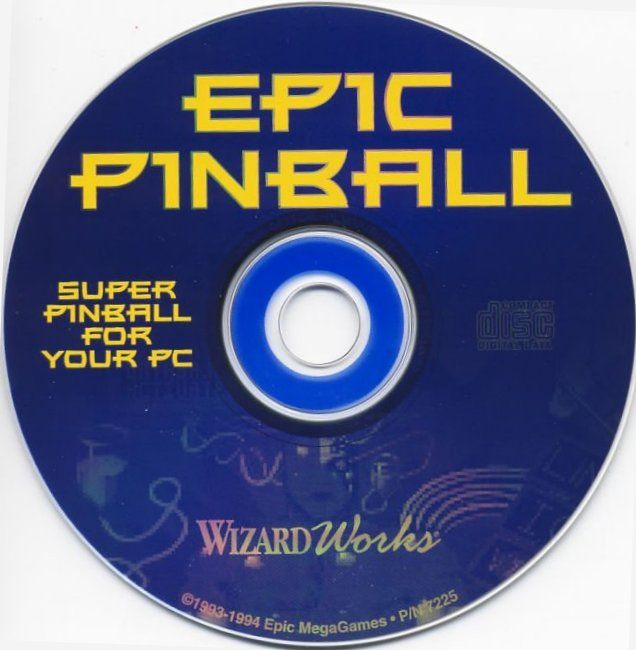 Epic Pinball: The Complete Collection DOS Media