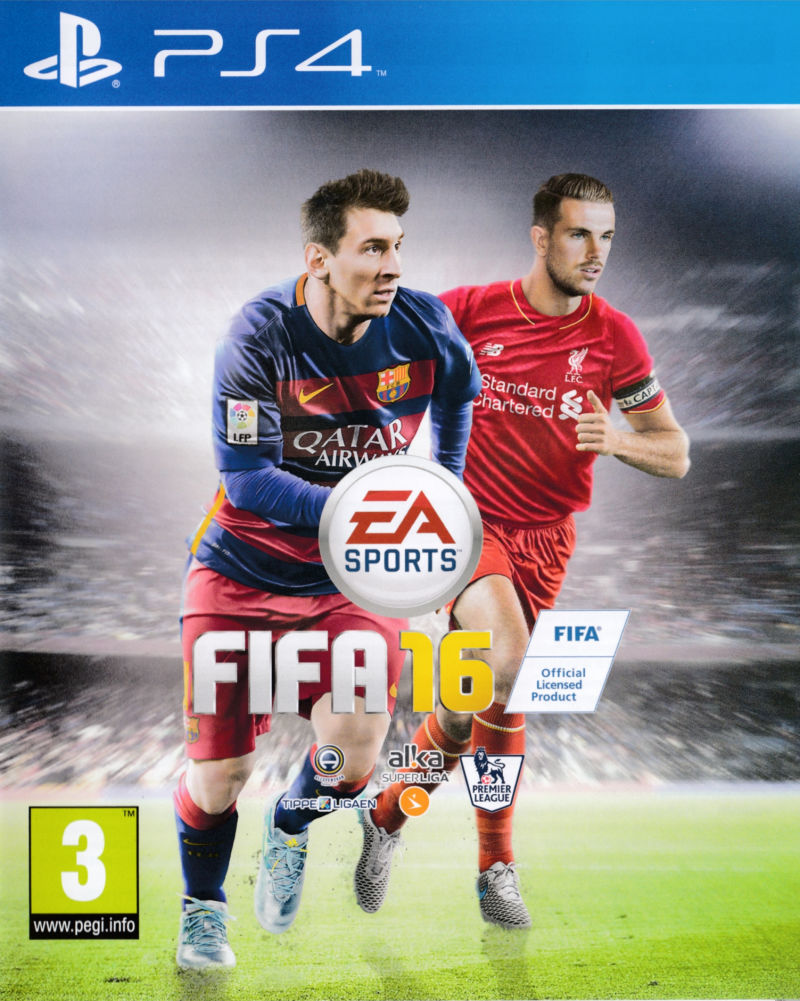 fifa 16 2015 playstation 4 box cover art mobygames. Black Bedroom Furniture Sets. Home Design Ideas