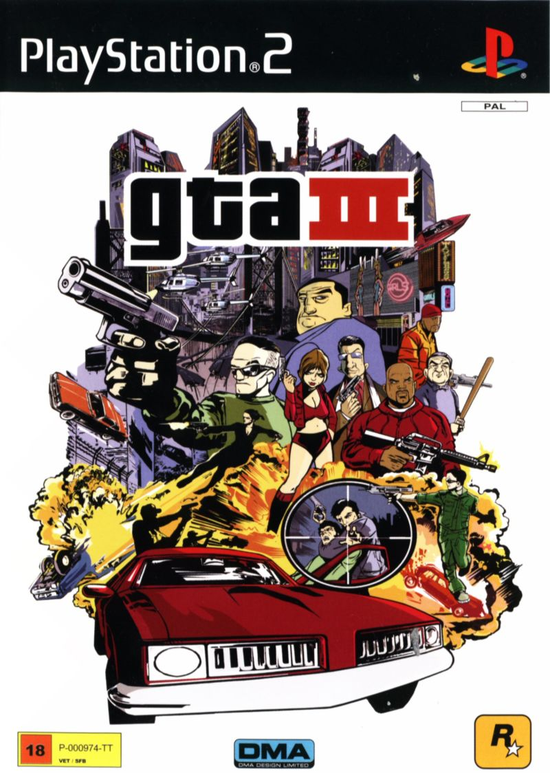 Grand Theft Auto III (2011) Android box cover art - MobyGames