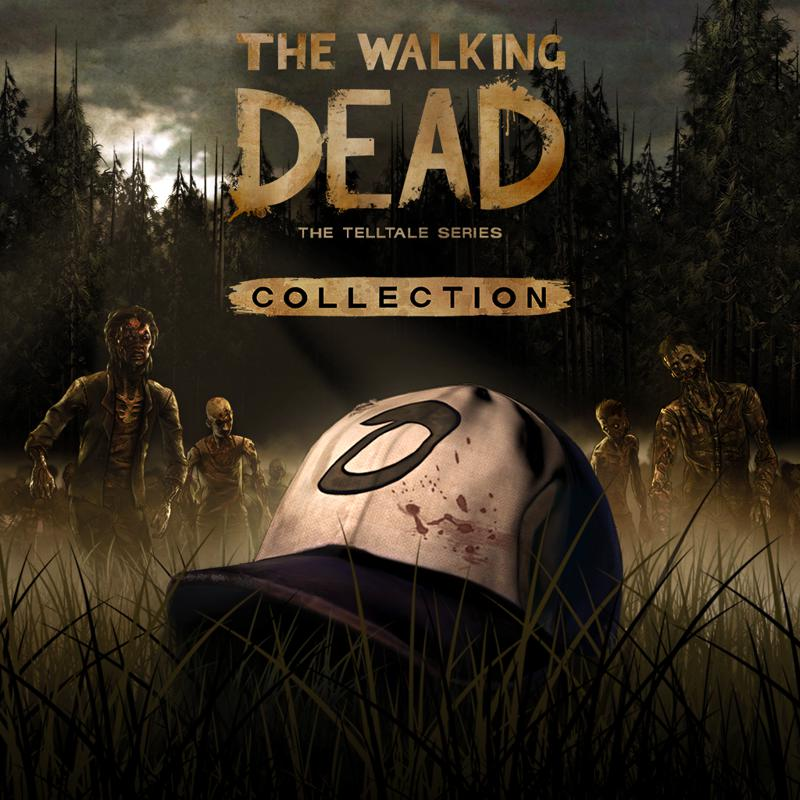 The Walking Dead Collection PlayStation 4 Front Cover