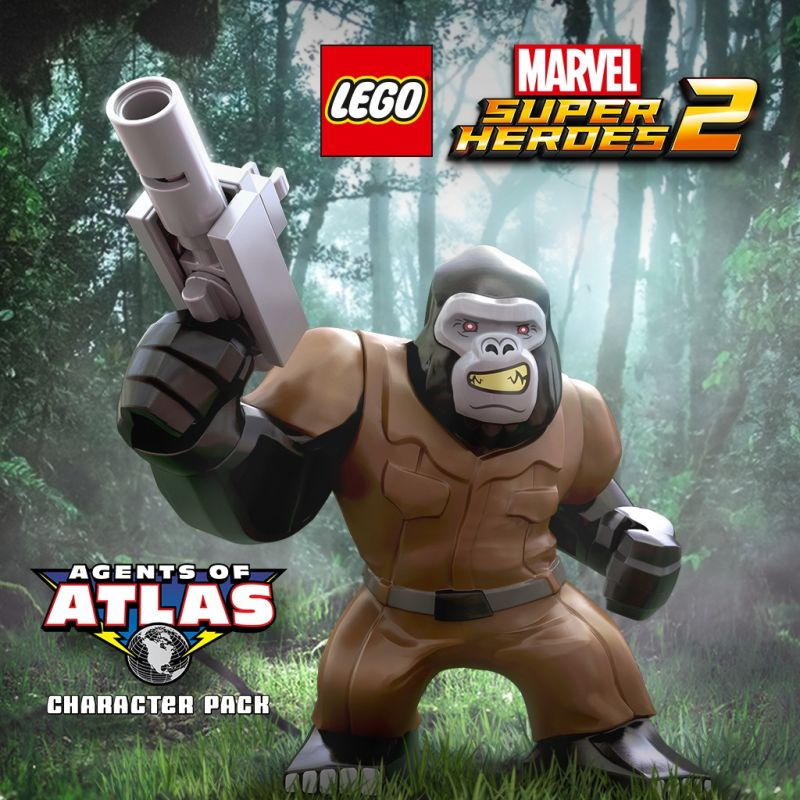 LEGO Marvel Super Heroes 2: Agents of Atlas Character Pack (2017 ...