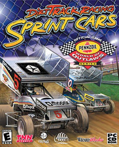 Dirt Track Racing: Sprint Cars Windows Front Cover