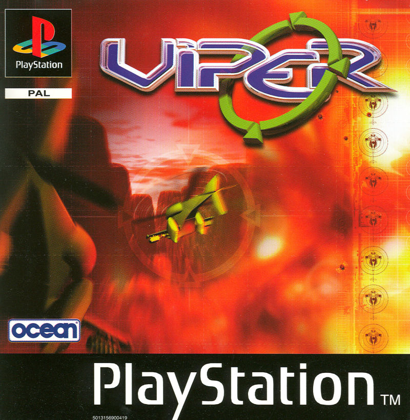 Viper PlayStation Front Cover