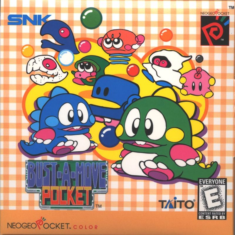 Bust-A-Move Neo Geo Pocket Color Front Cover
