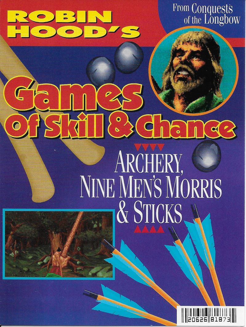Crazy Nick's Software Picks: Robin Hood's Games of Skill and Chance DOS Front Cover