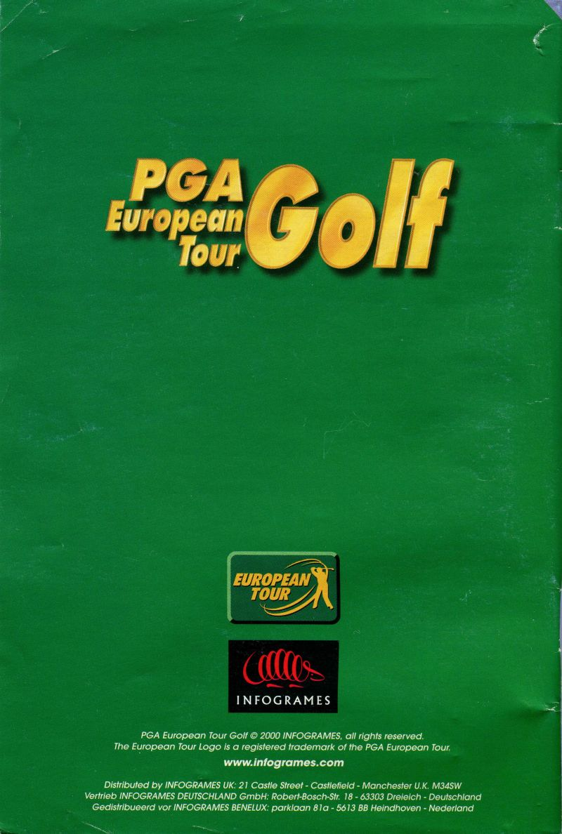 Pga European Tour Golf 2000 Nintendo 64 Box Cover Art Mobygames