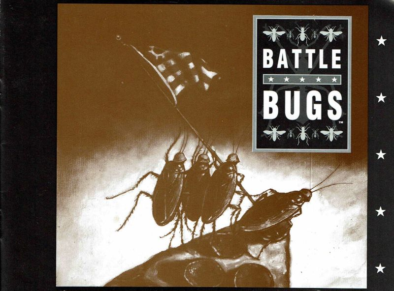 Battle Bugs DOS Manual Front