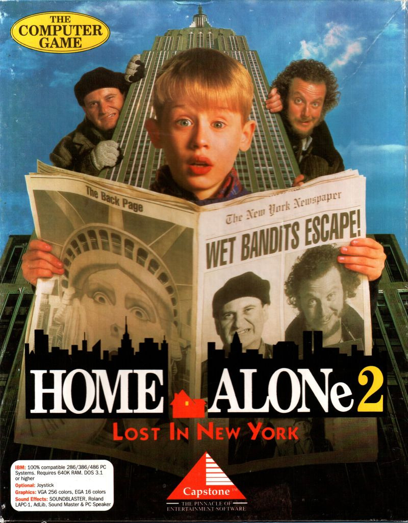 Home Alone 2 Lost In New York For Dos 1992 Mobygames