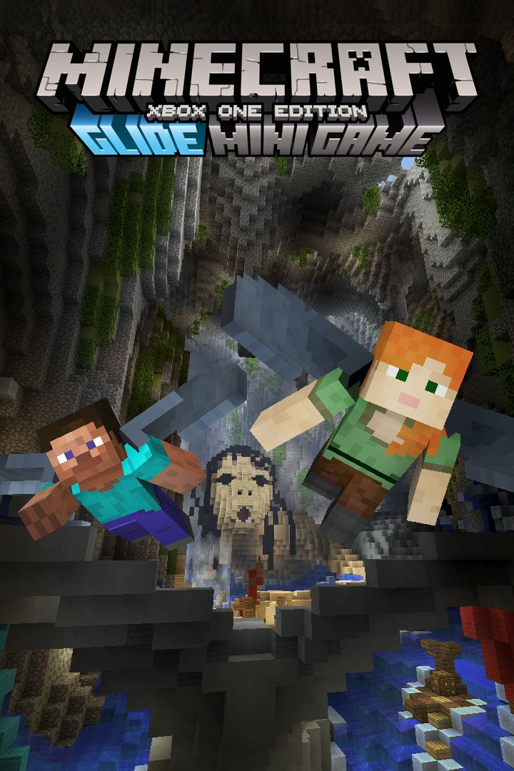 Book Cover Craft Xbox One : Minecraft xbox one edition glide myths track pack for