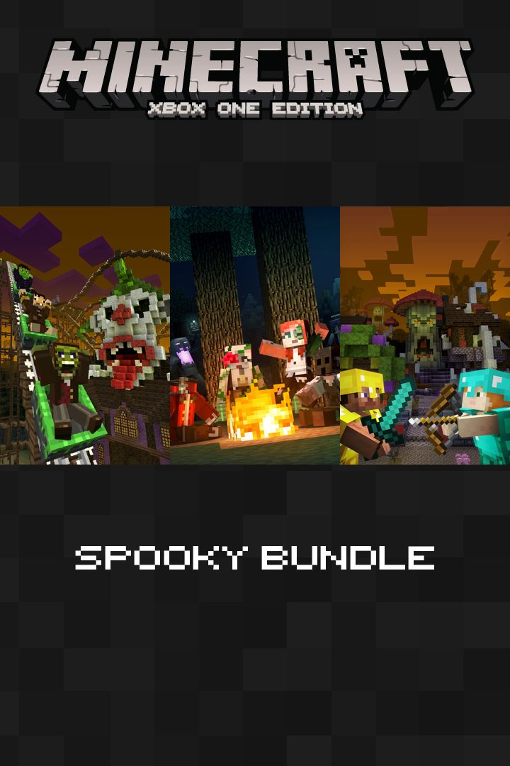 Book Cover Craft Xbox ~ Minecraft xbox one edition spooky bundle