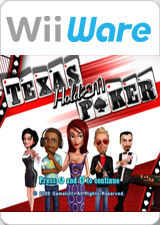 Texas Hold'Em Poker Wii Front Cover
