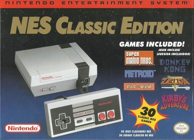 Nintendo Entertainment System Nes Classic Edition 2016 Dedicated