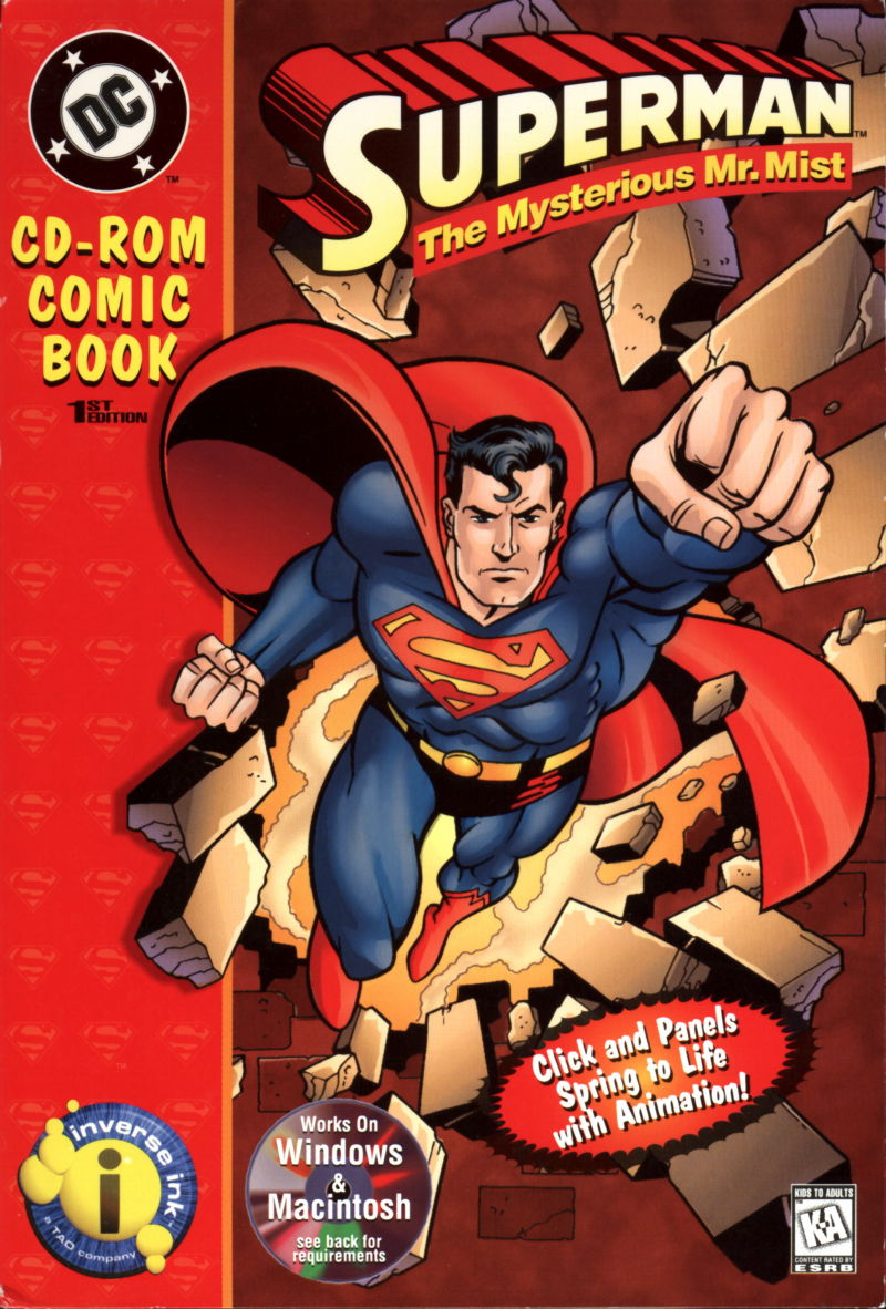 Superman: The Mysterious Mr. Mist Macintosh Front Cover