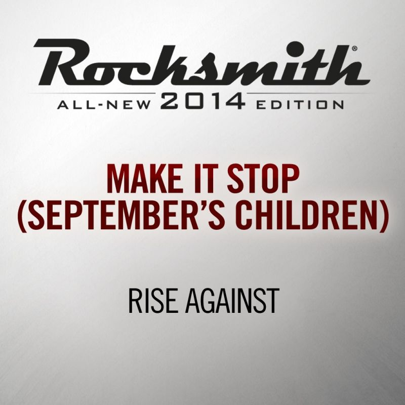 Rocksmith: All-new 2014 Edition - Rise Against Song Pack II 2016 pc game Img-2