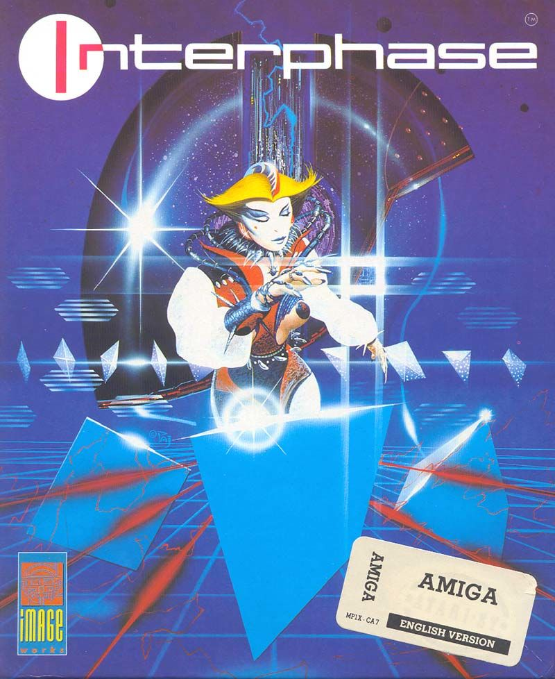 Interphase Amiga Front Cover