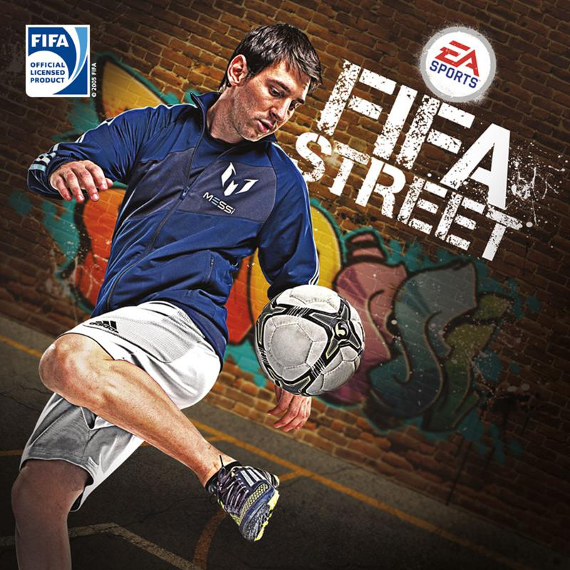 FIFA Street PlayStation 3 Front Cover