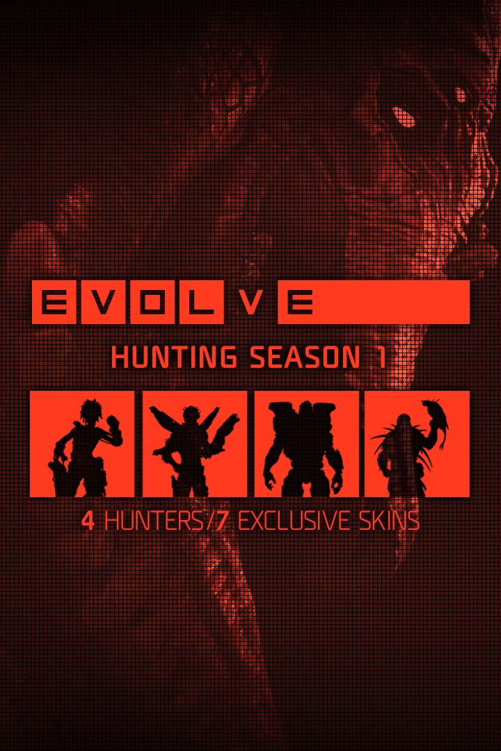 Evolve: Hunting Season Pass Xbox One Front Cover