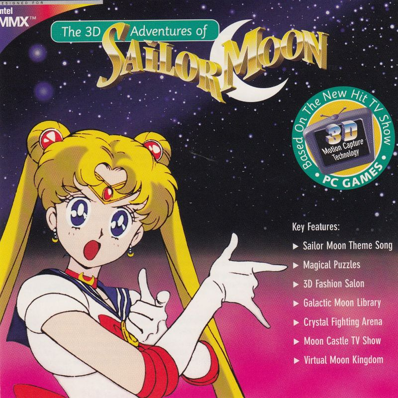 The 3D Adventures of Sailor Moon Windows Other Jewel Case - Front