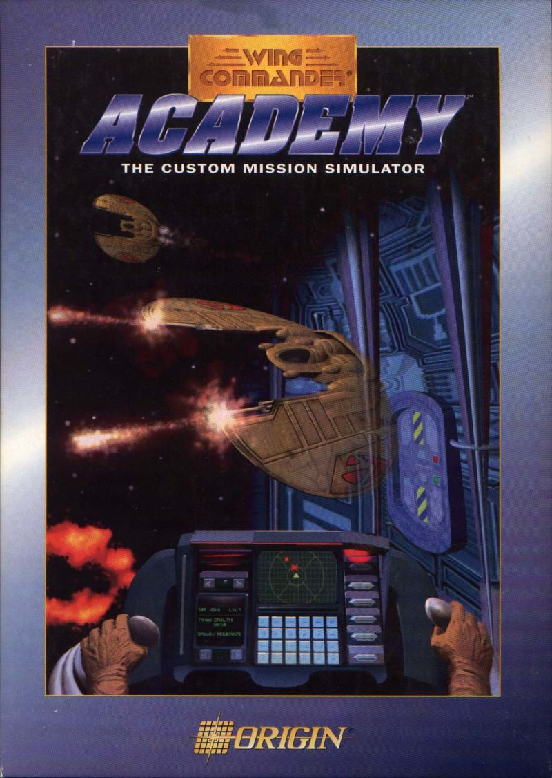 Wing Commander Academy DOS Front Cover