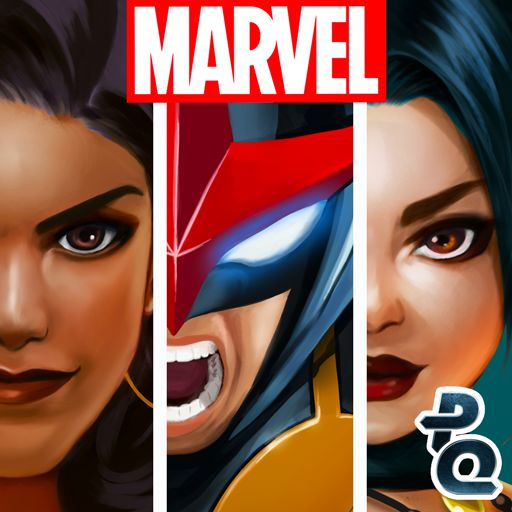 Marvel Puzzle Quest Android Front Cover R144 release