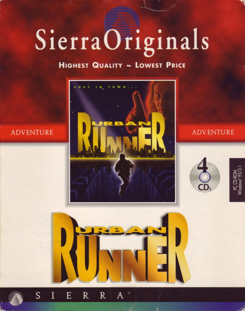 Urban Runner Windows 3.x Front Cover