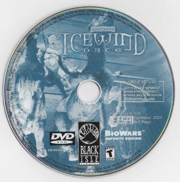 Icewind Dale Windows Media