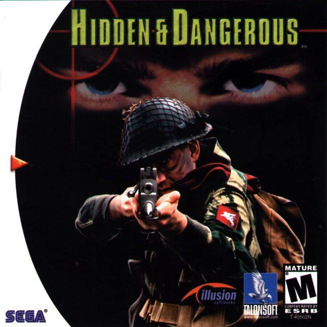 Hidden & Dangerous Dreamcast Front Cover