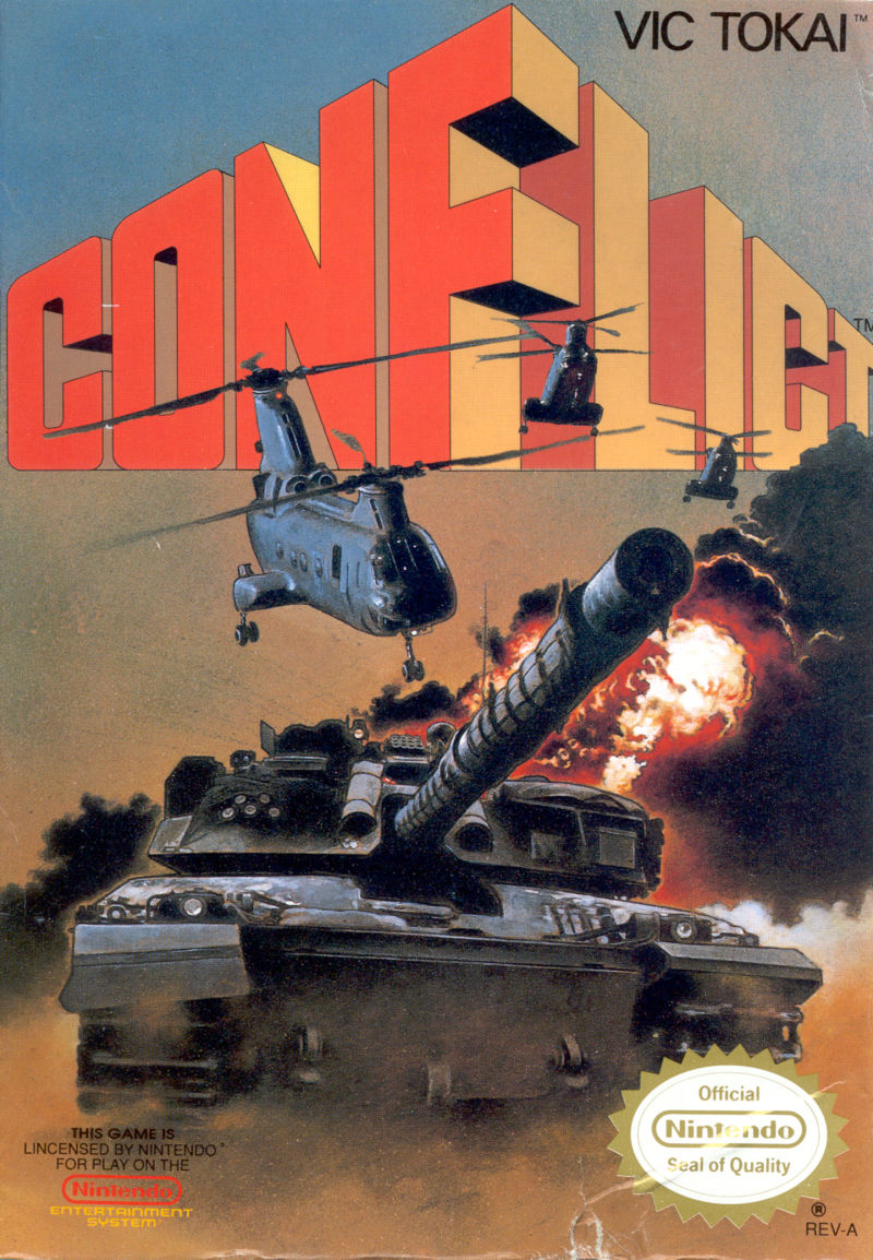 Top 100 Germany >> Conflict for NES (1989) - MobyGames