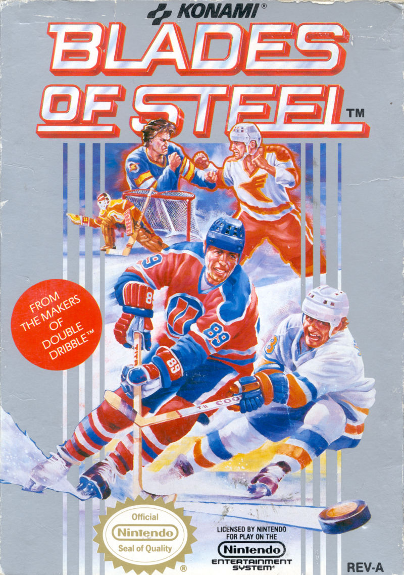 Blades of Steel NES Front Cover