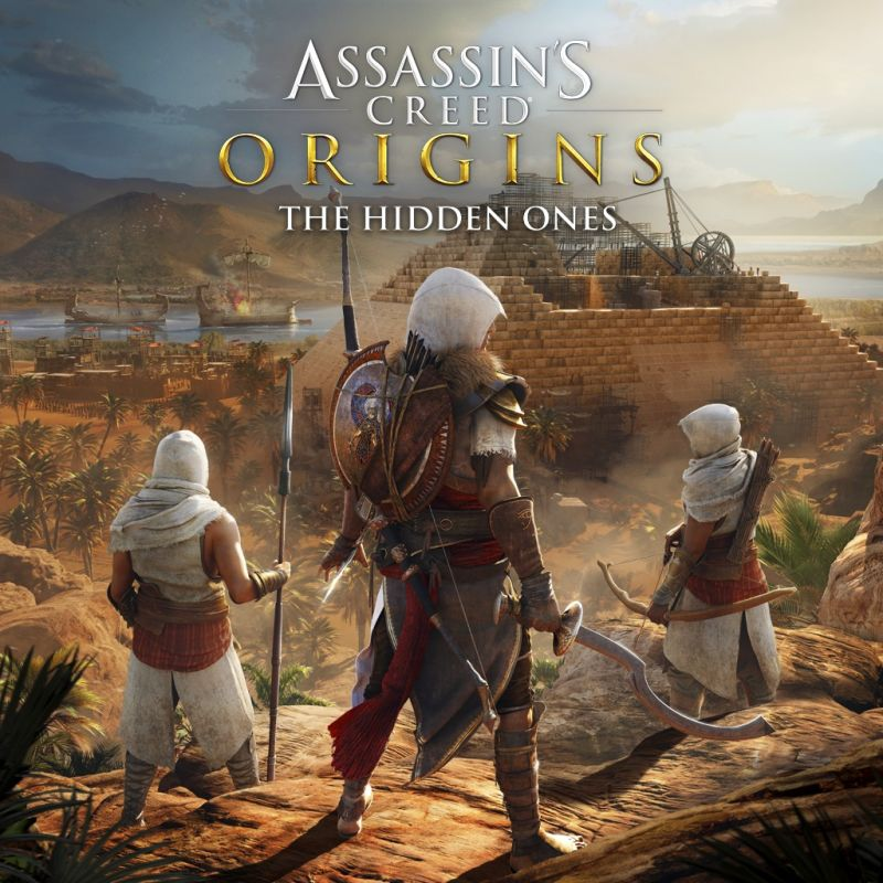 Assassin's Creed: Origins - The Hidden Ones PlayStation 4 Front Cover