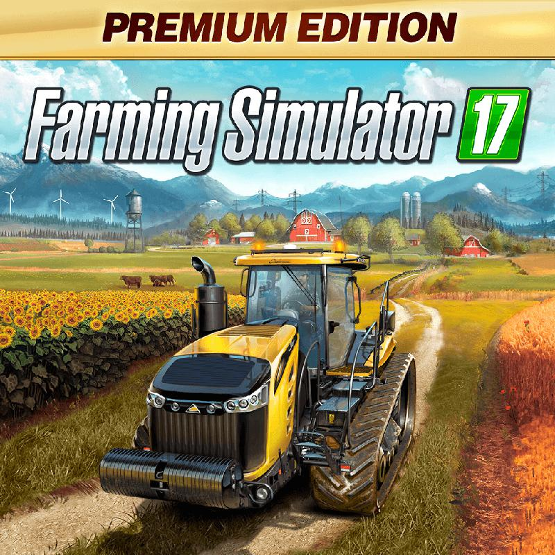 Farming Simulator 17: Premium Edition PlayStation 4 Front Cover