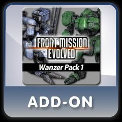 Front Mission Evolved: Wanzer Pack 1 PlayStation 3 Front Cover